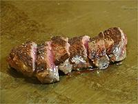 グリルコートで焼きたてのお肉を