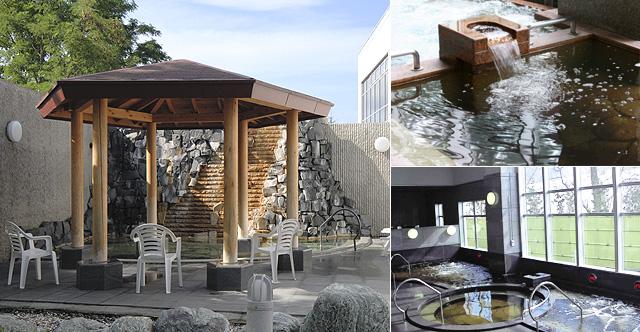 天然温泉 「レースイの湯」